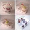 clear plastic cupcake box