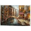 Handmade Venice oil painting