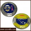 beautiful design custom logo metal souvenir coin