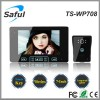 7 inch 2.4GHz wireless video door phone intercom system