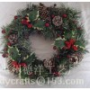 christmas decoration,wreath,berry pick,christmas tree