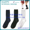 Wholesale cotton sport young boy tube school socks