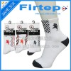 Custom cotton men basketball sports socks