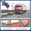 Portable axle weighing scale, movable truck scale
