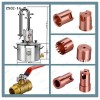 Home distilling equipment alcohol distillation copper still