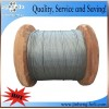 galvanized steel strand, guy wire, stay wire, steel wire